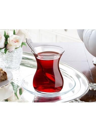 Madame Coco Candide 6'Lı Çay Bardağı Renkli